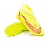Futsal Boot Mercurial Superfly 8 Club IC Niño Volt-Bright crimson