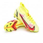 Zapatos de fútbol Mercurial Superfly 8 Pro FG Niño Volt-Black