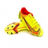 Zapatos de fútbol Mercurial Vapor 14 Academy FG/MG Niño Volt-Black