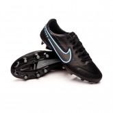 Scarpe Tiempo Legend 9 Pro FG Black-Iron grey-University blue