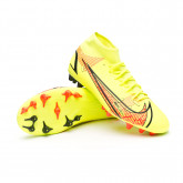 Zapatos de fútbol Mercurial Superfly 8 Academy AG Volt-Bright crimson