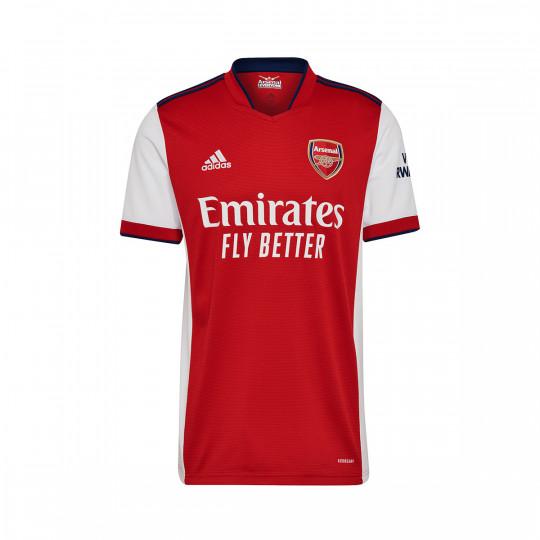 Maglia adidas Arsenal FC Primo Kit 2021-2022 White-Scarlet