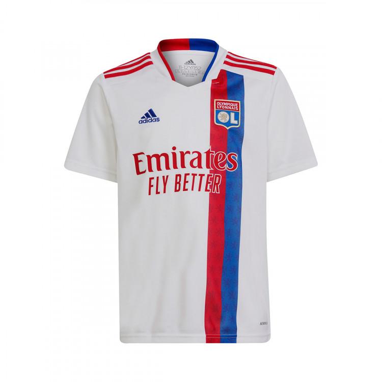 Maglia adidas Olympique Lyonnais Primo Kit 2021-2022 Bambino