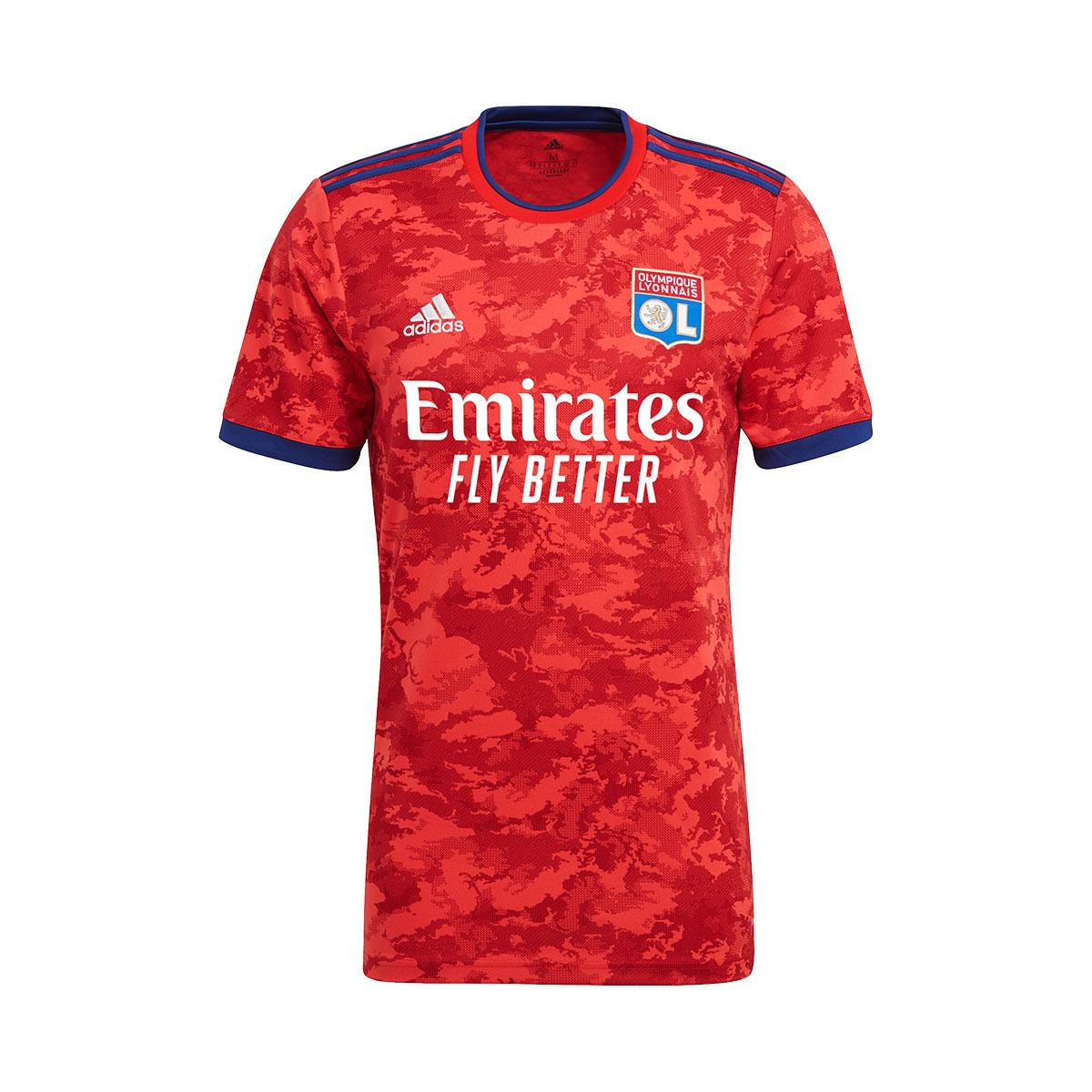 Maglia adidas Olympique de Lyon Secondo Kit 2021-2022