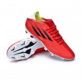 Zapatos de fútbol X Speedflow .3 FG Red-Black-Solar red