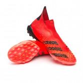 Scarpe Predator Freak + Turf Red-Black-Solar red