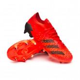Scarpe Predator Freak .1 L SG Red-Black-Solar red