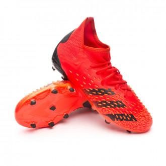 Predator Freak .1 FG Bambino Red-Black-Solar red