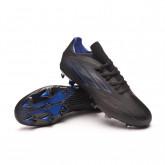 Zapatos de fútbol X SpeedFlow.2 FG Black-Sonink-Solar yellow