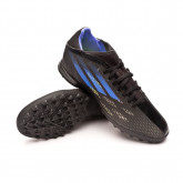 Football Boots X SpeedFlow.3 Turf Black-Sonink-Solar yellow