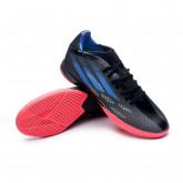 Futsal Boot X SpeedFlow.3 IN Black-Sonink-Solar yellow