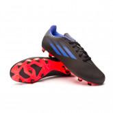 Zapatos de fútbol X Speedflow .4 FxG Black-Sonink-Solar yellow