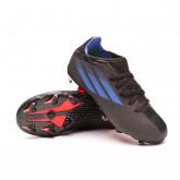 Football Boots Kids X SpeedFlow.3 FG Black-Sonink-Solar yellow
