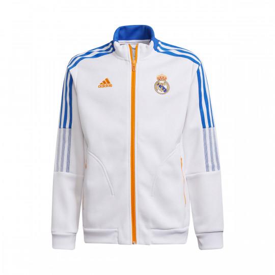 Giacca adidas Real Madrid Anthem 2021-2022 White