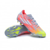 Chaussure de foot X SpeedFlow.3 FG Clear-White-Solar yellow
