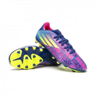 X SpeedFlow Messi.3 MG Niño Victory blue-Shock pink-Solar yellow