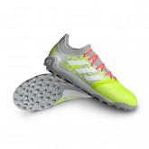 Chaussure de foot Copa Sense.3 Turf Clear onix-White-Solar yellow