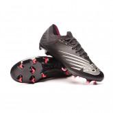 Scarpe Furon v6+ Pro Leather FG Black-Alpha Pink