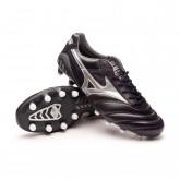 Chaussure de foot Morelia DNA Japan MD Obsidian-Galaxy Silver