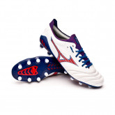 Football Boots Morelia Neo III Beta Japan MD White-High risk red