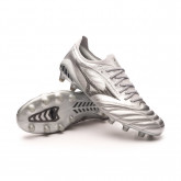 Football Boots Morelia Neo III Beta Japan MD Galaxy Silver-Black