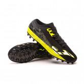 Football Boots Supercopa AG Black-Yellow