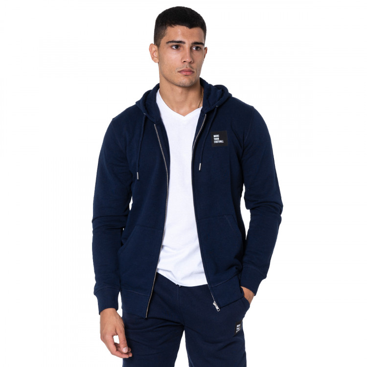 Zip Square French Navy