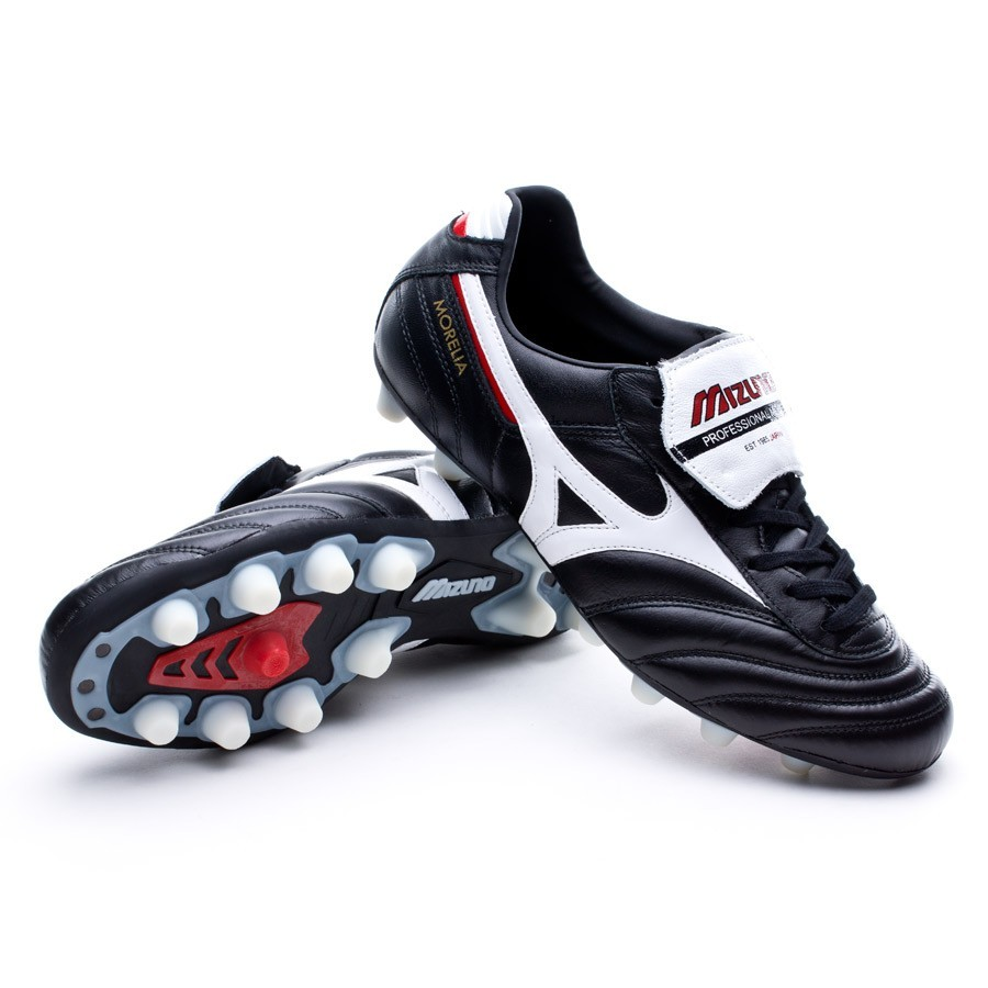 ce1110d12a Boot Mizuno Morelia MD Black-White - Leaked soccer