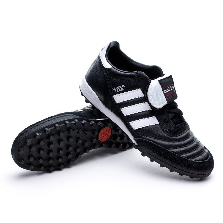 Polvoriento Noticias café  Football Boots adidas Mundial Team Black - Football store Fútbol Emotion