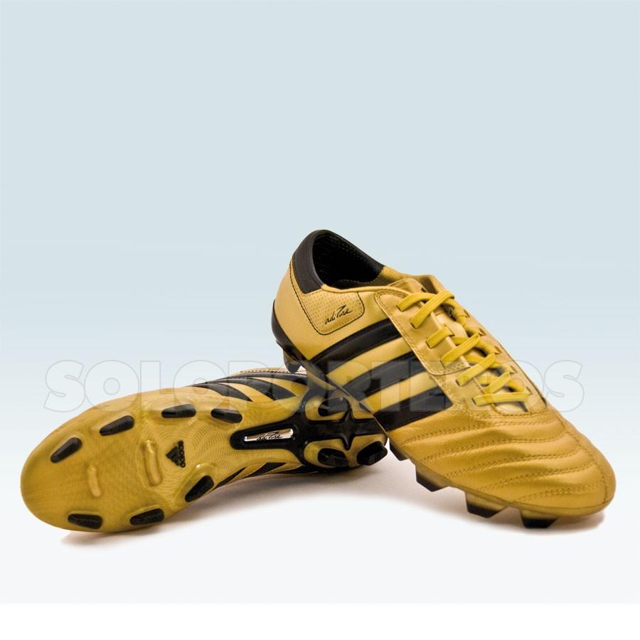 Recuerdo partícipe acelerador  botas adidas doradas
