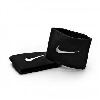 Shinpad straps  Nike black Black shin pad straps