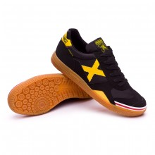 Futsal Boot Gresca Black-Yellow-Caramel