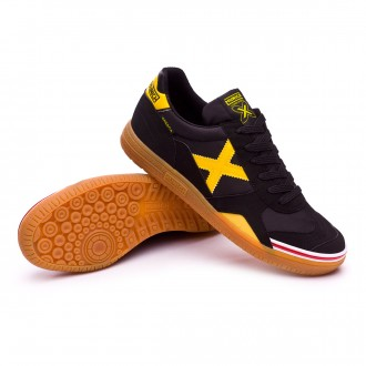 Futsal Boot  Munich Gresca Black-Yellow-Caramel