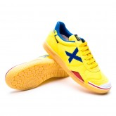 Futsal Boot Gresca Yellow-Blue-Caramel