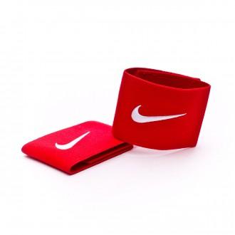 Shinpad straps  Nike red Red