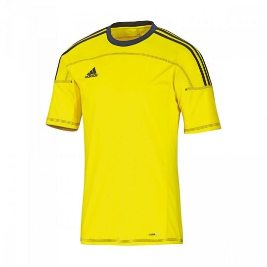 Camiseta  adidas Toque 11 Amarilla Fluor-Marino