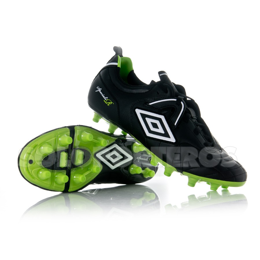 c6d47b917ce8d Zapatos de fútbol Umbro Speciali R Pro HG Negra-Verde - Tienda de fútbol  Fútbol Emotion