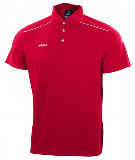 Polo  Joma Champion M/C Rouge