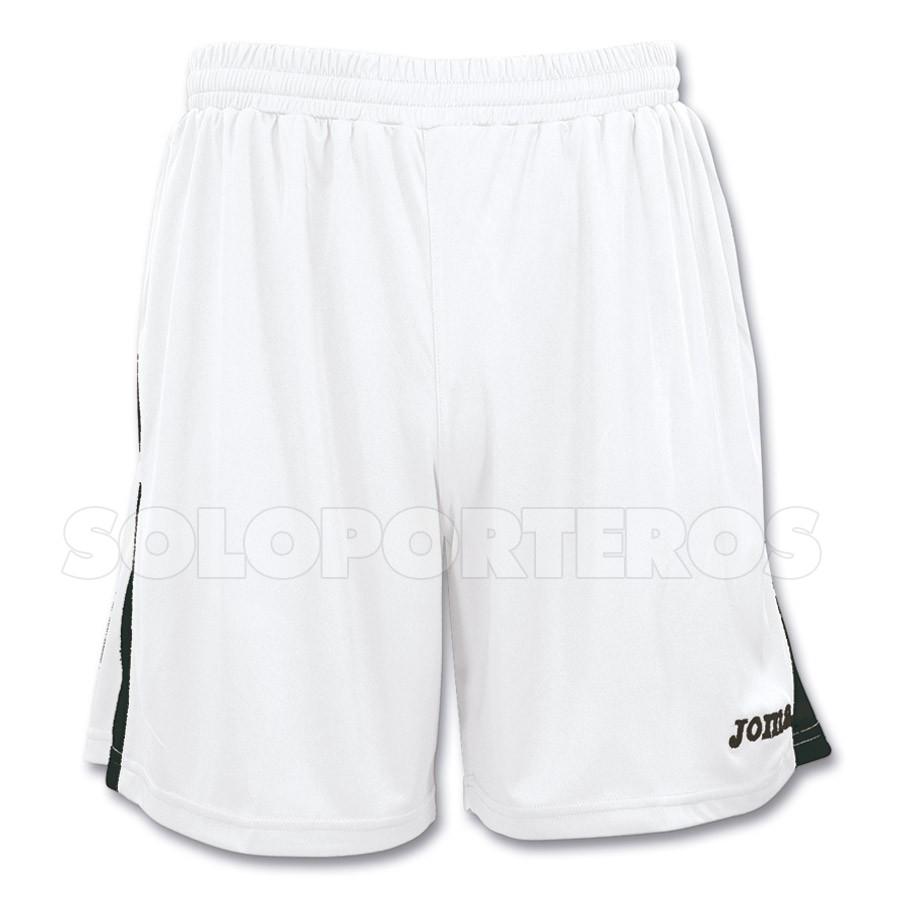 a1238aa5a2 Pantalón corto Joma Tokio Blanco-Negro - Tienda de fútbol Fútbol Emotion