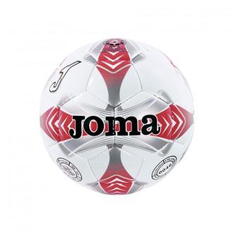 Balón Joma Egeo 4 Blanco-Rojo-Gris