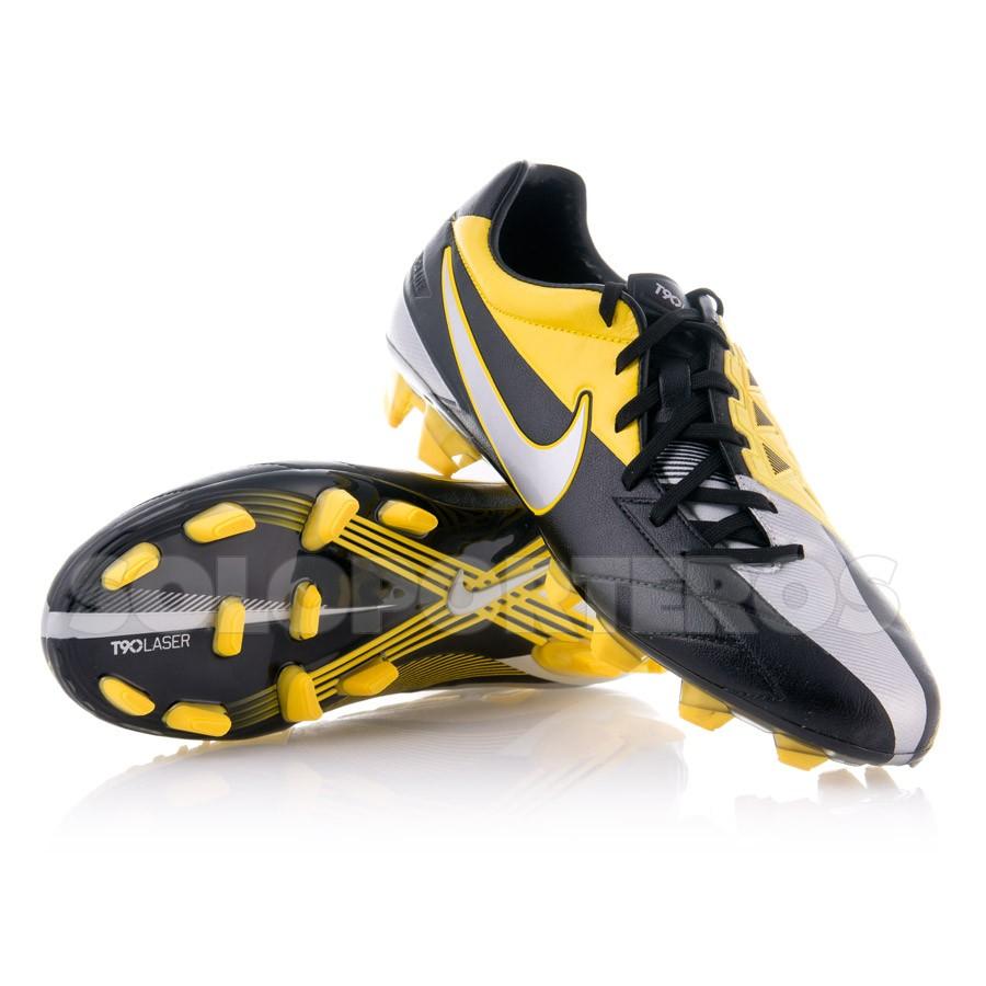 00edbb1b83 Bota de fútbol Nike Total 90 Laser IV KL-FG Negra-Plata - Soloporteros es  ahora Fútbol Emotion