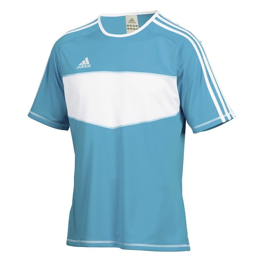 Camiseta adidas Entrada Celeste-Blanca - Soloporteros es ahora ... d5178e806935b