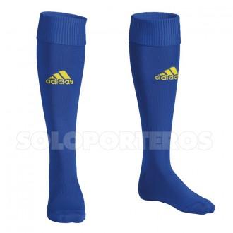 Football Socks  adidas Santos  Cobalt-Yellow