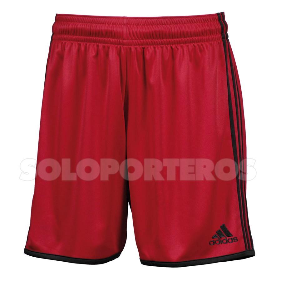 f2dd93240 Pantalón corto adidas Entrada Rojo-Negro - Tienda de fútbol Fútbol Emotion