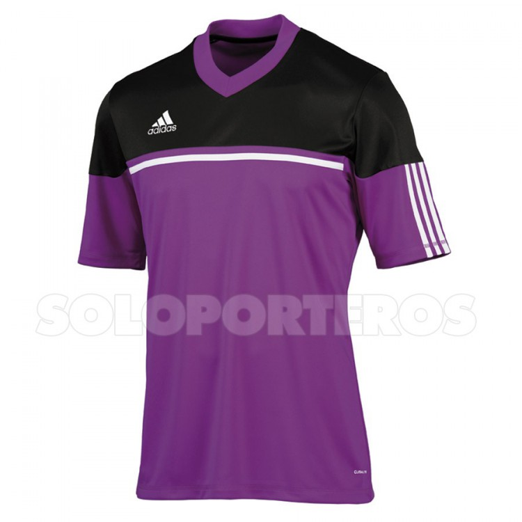 Playera adidas Autheno Morada-Negra - Soloporteros es ahora Fútbol ... 6c93bae8a91