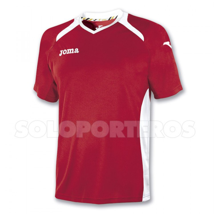 Jersey Joma SS Champion II Red-White - Soloporteros es ahora Fútbol ... 879d94c9931fa