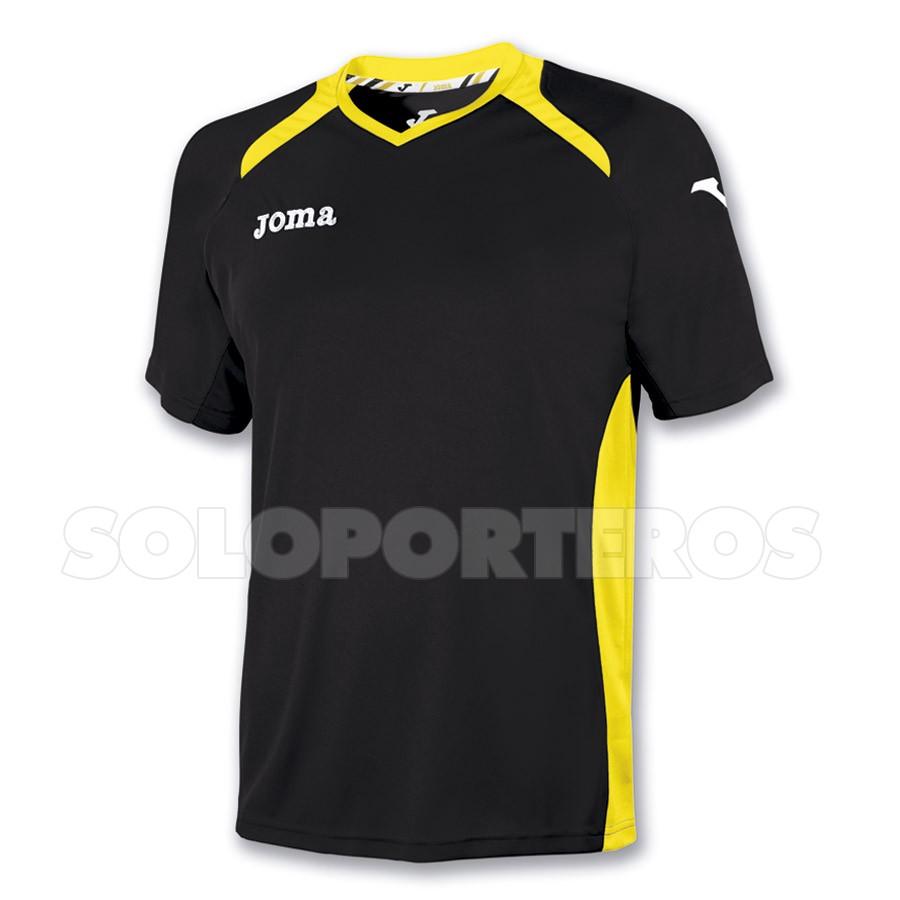 486f38bd3 Jersey Joma M C Champion II Black-Yellow - Football store Fútbol Emotion