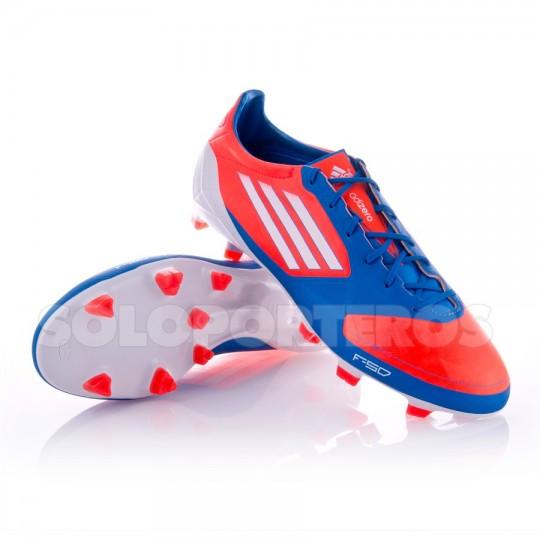 Chaussure de foot adidas F50 Adizero TRX FG Synthetic Bleu-Orange ...