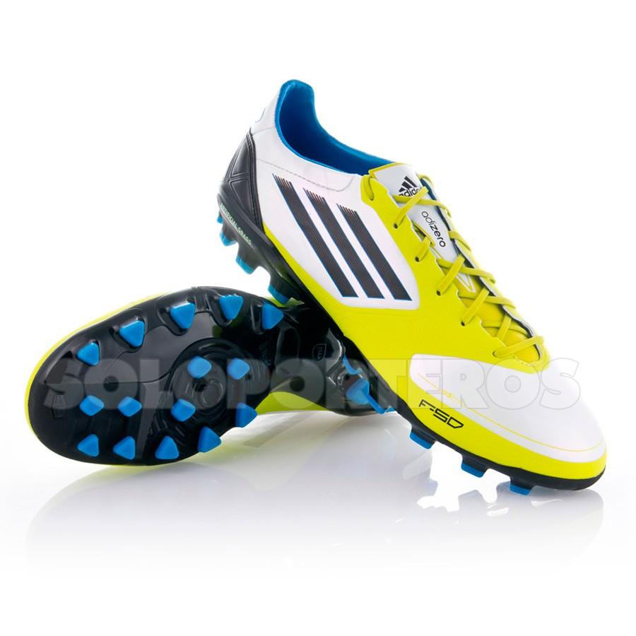 Chuteira adidas F50 Adizero TRX AG Synthetic Branco-Limão - Loja de ... 479fa800b7ad7
