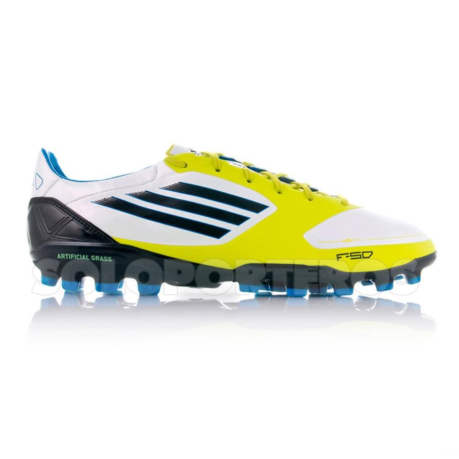 new arrival 7e3cd 6c079 Football Boots adidas F50 Adizero TRX AG Synthetic White-Lime - Tienda de  fútbol Fútbol Emotion